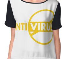 Antivirus Chiffon Top