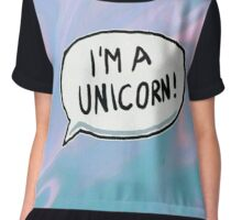 I'm a unicorn! Chiffon Top