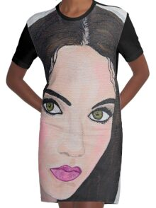 Gypsy Maiden  Graphic T-Shirt Dress