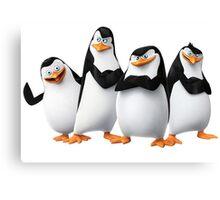 Penguin Madagascar 1 Canvas Print