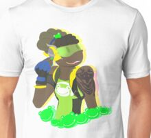 a frog and boy Unisex T-Shirt