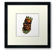 big notorious Framed Print