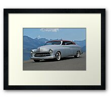 1949 Mercury Custom Framed Print