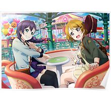 Love Live! School Idol Project - Amusement Park Date Poster