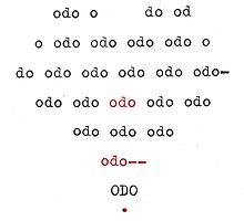 typewriter odo by mugs-munny