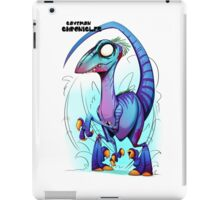 RAPTOR ZOMBIE! iPad Case/Skin