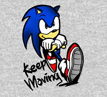 sonic keep moving Unisex T-Shirt