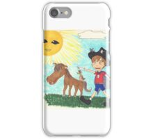 Pirate Boy Aaron and the Mystery of the Space Princess iPhone Case/Skin
