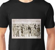 Performing Arts Posters Geo W Lederers Belle of New York the rage of two continents book by Hugh Morton music by Gustav Kerker 1237 Unisex T-Shirt
