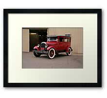 1927 Paige 8-85 Sedan Framed Print