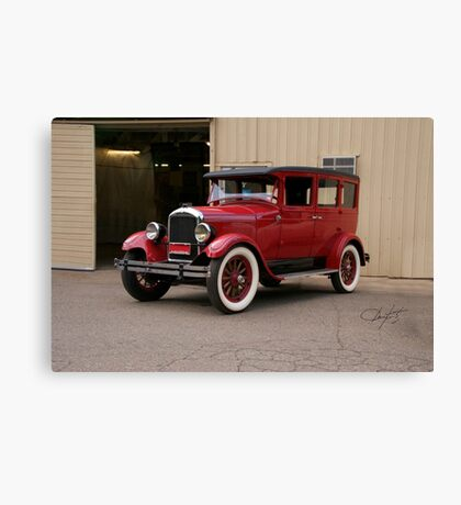 1927 Paige 8-85 Sedan Canvas Print