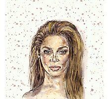 Beyonce is Music Photographic Print