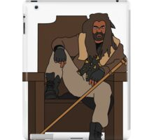 The Walking Dead Ezekiel The Kingdom iPad Case/Skin