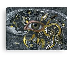 Eye in the sky. Canvas Print