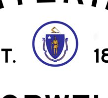 Entering Norwell - Commonwealth of Massachusetts Road Sign Sticker