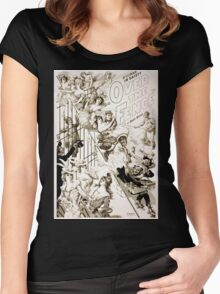 Performing Arts Posters A climax in gaiety Over the fence by Owen Davis 1136 Women's Fitted Scoop T-Shirt