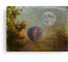 Moonlight Launch Canvas Print