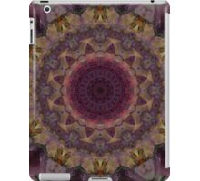 Mandala in violet, yellow and red tones iPad Case/Skin