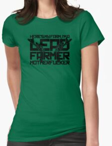 I Am Lead Farmer Womens Fitted T-Shirt