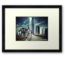 THE CHASE-IMPOSTER AT GovHQ Framed Print