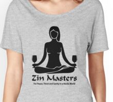 LADIES ZIN MASTER WINE CLUB  Women's Relaxed Fit T-Shirt