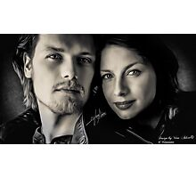 Caitriona Balfe & Sam Heughan Photographic Print