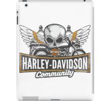 Harley community iPad Case/Skin