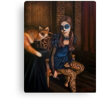 The Legend of Kitsune Canvas Print