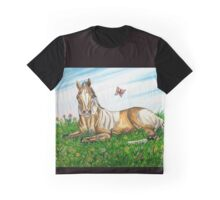 Spring Foal Graphic T-Shirt
