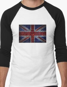 UK Flag vintage Men's Baseball ¾ T-Shirt