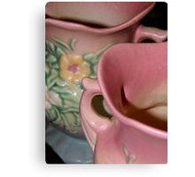 Hull Pottery Canvas Print