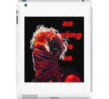Josh Dun- Tear In My Heart Drum Line (Black Words) iPad Case/Skin