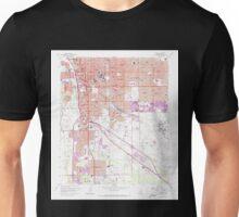 USGS TOPO Map Arizona AZ Tucson 313815 1957 24000 Unisex T-Shirt