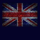 UK Flag vintage by E ROS