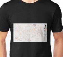 USGS TOPO Map Arizona AZ Parker 315278 1985 100000 Unisex T-Shirt