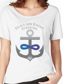 I Support Guillain-Barre Syndrome Women's Relaxed Fit T-Shirt