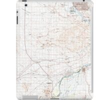 USGS TOPO Map Arizona AZ Parker 315278 1985 100000 iPad Case/Skin