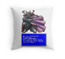 I, Garland, will knock you all down! Throw Pillow