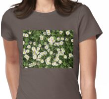 Summer Daisies, Lucky In Clover, St. Patrick's Day, Frühling! Womens Fitted T-Shirt