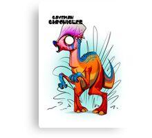 BONEHEAD ZOMBIE! Canvas Print