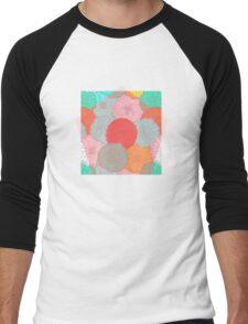 Bright Flower, Bright Flowers Men's Baseball ¾ T-Shirt