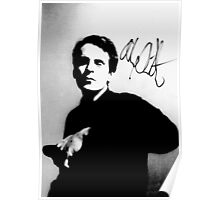 Alex Chilton pic with autograph tee Poster