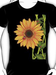 Sunflower Ladybugs T-Shirt