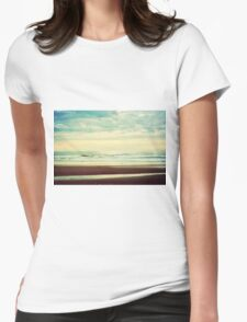 As the Sun Begins to Fade Womens Fitted T-Shirt