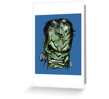 Talk to his hand. Greeting Card