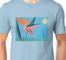 BIRD OF PARADISE AGAINST SKY Unisex T-Shirt