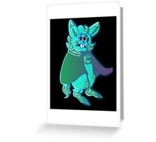 Space hamster Greeting Card