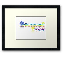 Hawthorne Wipes Framed Print