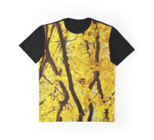 Fall Branches, Golden Yellow Graphic T-Shirt