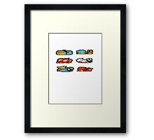 GAME OVER (without text) Framed Print